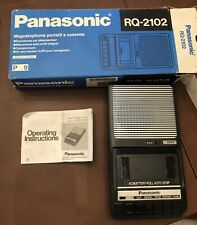 PANASONIC RQ-2102 Slimline Personal Cassette Recorder Tape Player~Hard to Find