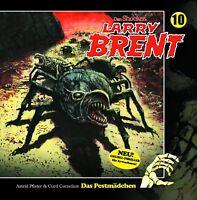 LARRY BRENT - FOLGE 10-DAS PESTMÄDCHEN  2 CD NEW