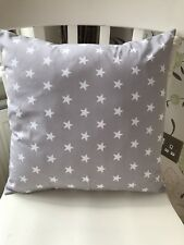 "Rose and Hubble Grey Star 16 "" Cushion Cover Gift"