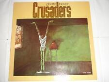 The  Crusaders - Ghetto Blaster  Original 1984 UK MCA LP