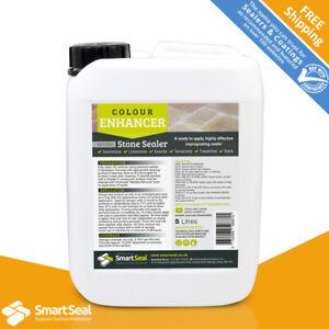 SMARTSEAL Natural Stone Sealer COLOUR ENHANCED Patio & Limestone - sample 1,5,25