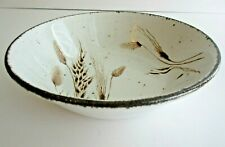 """New listing Vintage Stonehenge Midwinter Wild Oats Pattern 8 3/4"""" Round Vegetable Bowl Plate"""