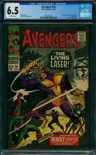 Avengers #34 CGC 6.5 -- 1966 -- 1st app Living Laser #2001875004