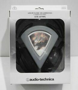 Audio-Technica ATH-AD700X Audiophile Open-Air Headphones - Black
