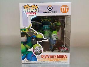 Funko Pop! D.Va With MEKA #177 Overwatch