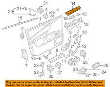 VW VOLKSWAGEN OEM 06-10 Passat Front Door-Switch Cover Left 3C1867171B1QB