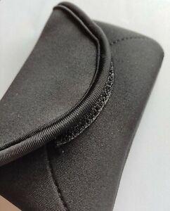 Apple iPhone 5S SE Neoprene Case Sock Phone Pouch Smartphone Cover Black New