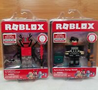 NIB Roblox Homing Beacon The Whispering Dread & Bandit RARE Action Figure Bundle