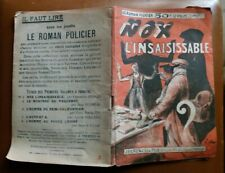C1 SIMENON Christian BRULLS - NOX L INSAISISSABLE EO 1926 Tres RARE