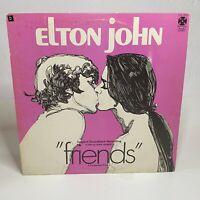 Elton John – Friends: Paramount Records 1971 Vinyl LP Stereo (Rock / Soundtrack