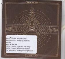 Jonah Tolchin : Clover Lane.  PROMO CD Album