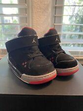 Jordan Baby Shoes Black Size 7C. Size 7. Kids Toddler Boys Girls.