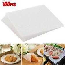 100Pcs Baking Silicone Oil Paper Barbecue Non-Stick Steamer Paper Kitchen Cook