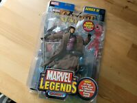 "2003 Marvel Legends GAMBIT 7"" Figure Series IV MIP - Toy Biz  NEW SEALED NEW"