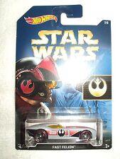 Action Figure Star Wars Hot Wheels Vehicle Car Fast Felion Poe Dameron 7/8
