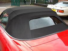 Honda S2000 noir mohair capuche/fenêtre en verre soft-top 2002-2008