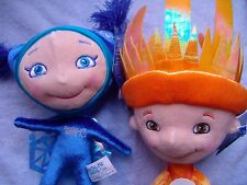 The 2014 Winter Paralympics SOCHI - SNOWFLAKE & RAY OF SUN - OFFICIAL MASCOTS