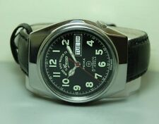 VINTAGE WEST END MILITARY AUTOMATIC DATE MENS T4457 5593 WATCH OLD J128 ANTIQUE