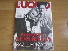 L'UOMO VOGUE MAGAZINE MARCH 2014,BAZ LUHRMANN SEALED.