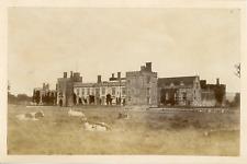 H. G. Inskipp, Tunbridge Wells, Penshurst Castle  Vintage albumen print. Vintage