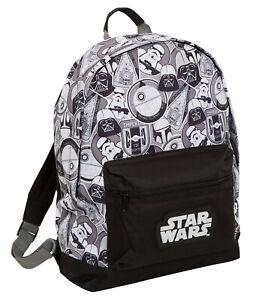 Star Wars Large Backpack Darth Vader Trooper School College Laptop Bag Rucksack