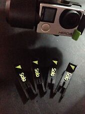 3DR Solo Landing Feet Anti-Tip Black And Neon Green 4 Pack