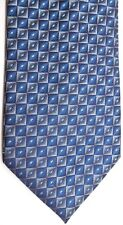 "Van Heusen Men's Polyester Tie 58.5"" X 3.5"" Multi-Color (Blue) Geometric"
