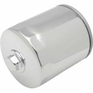 Chrome Oil Filter with Nut for Harley Davidson Twin Cam FXST FXD Touring