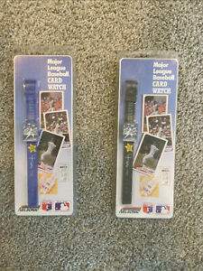 Lot Of 2 Don Mattingly New York Yankees 1989 Topps Watch Blue & Black Bands