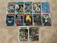 Crisis on Infinite Earths Issues #1-12 Complete Run (DC 1984) VF+