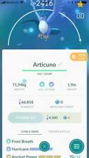 Pokemon Articuno Hurricane Level 28 - PVP 2500 CP - Unlock 3 Skills - Trade