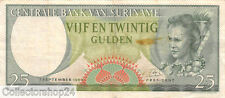 Suriname 25 Gulden 1963 Zf Pn 122 - RE070979