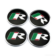 """4x 2.2"""" 56mm For Jaguar R Emblem Wheel Center Caps Sticker XJ XJR XJ6 XF X S"""