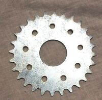 66/80cc Motor bicycle GAS ENGINE parts - 28 teeth FLAT sprocket only ( no mount)