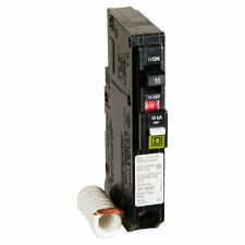 Square D QO115CAFIC Type QO Arc Fault Combination Circuit Breaker, 120 VAC, 15