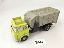VINTAGE DINKY TOYS # 978 BEDFORD TK REFUSE WAGON DIECAST TRUCK LORRY LIME GREEN
