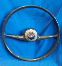 Rare Ancien volant automobile ancienne voiture panhard dyna quillet paris 1960