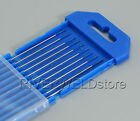 1.0mm x 175mm 2% Lanthanated TIG Tungsten Electrode WL20 Sky Blue Pack of 10