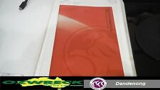 HOLDEN TK BARINA HATCH OWNERS MANUAL