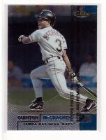 1999 Topps Finest #18 Quinton McCracken Tampa Bay Devil Rays Collectible Basebal