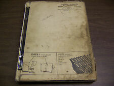 12068 John Deere Parts Catalog Pc-337 Combine 55 seies up to 55-57000 1959