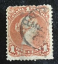 #22 1868 Queen Victoria Large Queen Issue.  Used, F/VG. High value stamp.