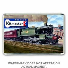 RETRO  KITMASTER PRAIRIE TANK LOCO KIT BOX ARTWORK JUMBO Fridge / Locker Magnet