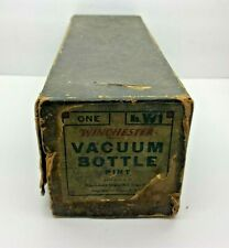 Antique Winchester Repeating Arms Vacuum Bottle Pint No.W1-Box Only