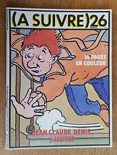 (A SUIVRE) N°26 / MARS 1980 / JEAN CLAUDE DENIS / BON ETAT+.