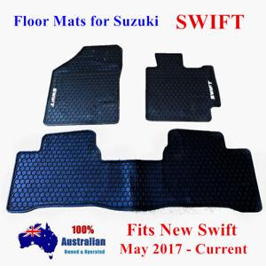 Waterproof Rubber Floor Mats Tailor Made For Suzuki Swift AZ GL GLX 2017 - 2019