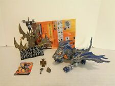 2005 Mega Bloks Dragons Metal Ages #9697 Screechlurker Building Set Complete