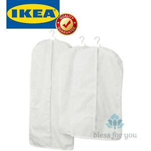 IKEA STUK Clothes Cover SET of 3 White Gray