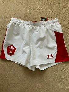 Under Armour WRU Match Issue Airvent AG Shorts Welsh Rugby -BNWT-CLEARENCE