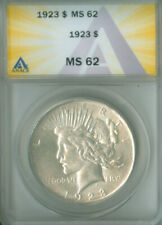 1923 PEACE DOLLAR ANACS MS 62 (2026089)